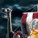 illustration  sur le thème des vikings