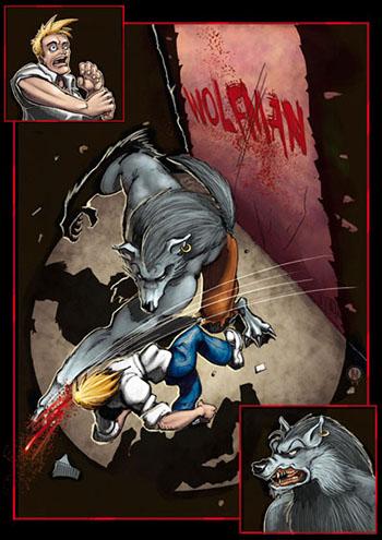 Loup-garou werewolf